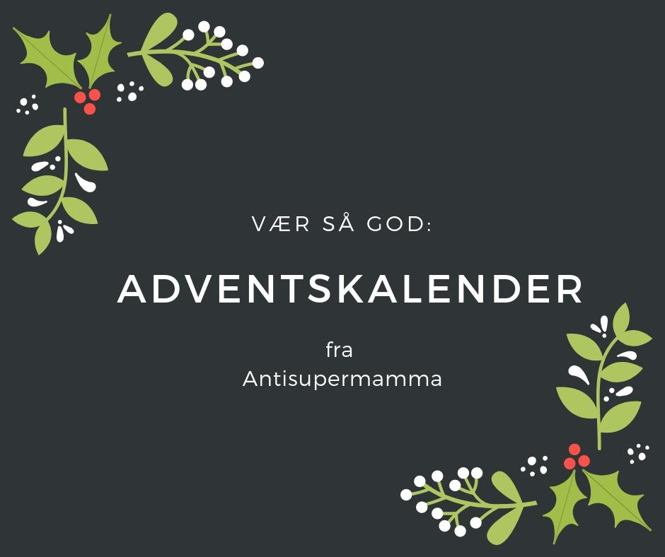 Antisuper adventskalender